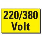TSD 22 220-380 Volt geel-zwart