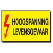 Voorbeeld 6 HOOGSPANNING LEVENSGEVAAR