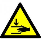 Handbeklemming (horizontale delen)