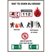 Wat te doen bij brand