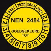 NEN 2484 geel