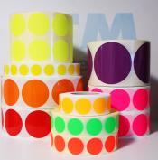 Markerings-stickers PAPIER - PERMANENT KLEVEND